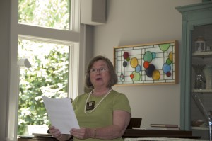 Carolann Slouffman Poetry Reading