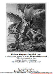 Siegfried, Act 1 - Queen City Chamber Opera and Wagner Society of Cincinnati collaborative production